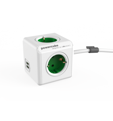 PowerCube Extended USB DE - GREEN