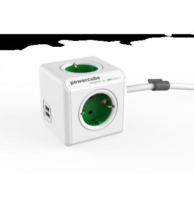 PowerCube Extended USB DE - GREEN