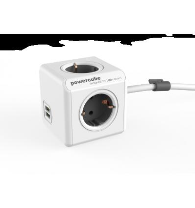 PowerCube Extended USB 3m cable DE