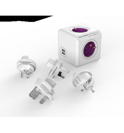 PowerCube ReWirable USB + 4x plug DE