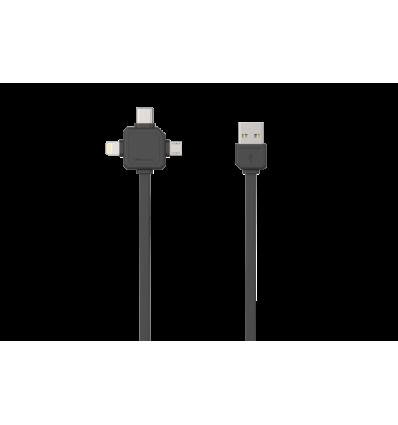 USBcable USB-C - BLACK