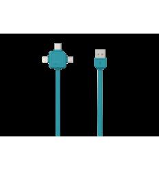USBcable USB-C - BLUE
