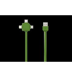 USBcable USB-C - GREEN