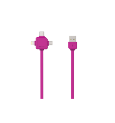 USBcable USB-C - PINK