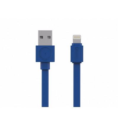 USBcable Lightning Basic BLUE